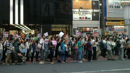 20150614 渋谷戦争反対デモ