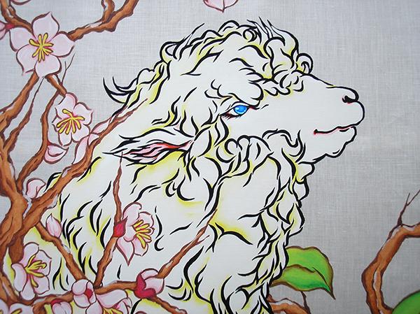 2015413のれん 羊4B