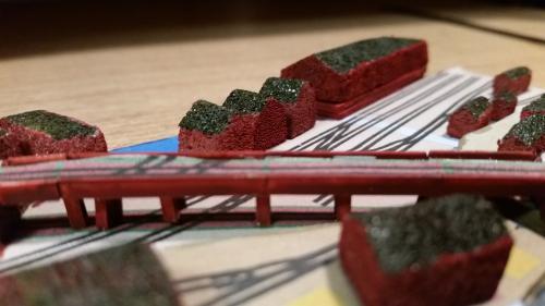 鉄道模型 立体図面 貨物ヤード7
