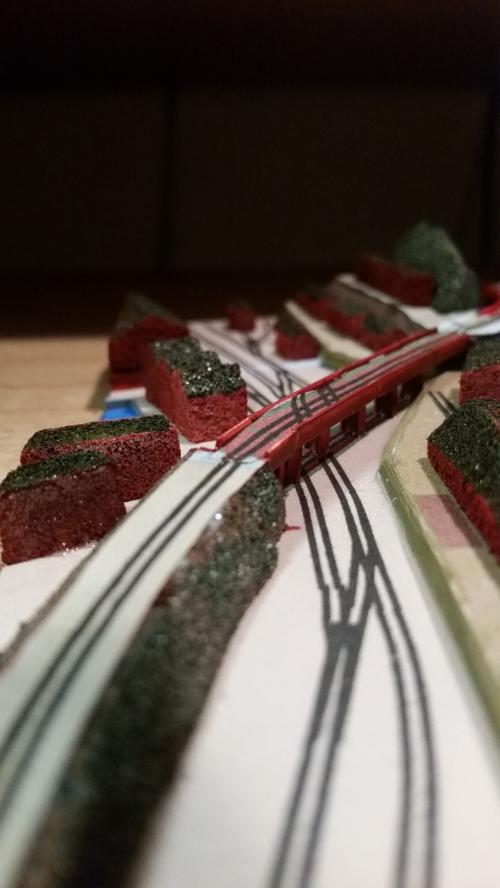 鉄道模型 立体図面 貨物ヤード6