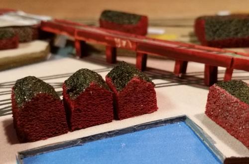 鉄道模型 立体図面 貨物ヤード3