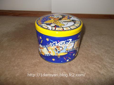ドナルド・ワッキーキングダムの記念品の缶