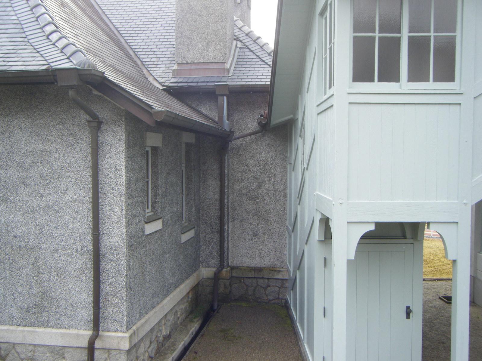 旧平賀邸接続部
