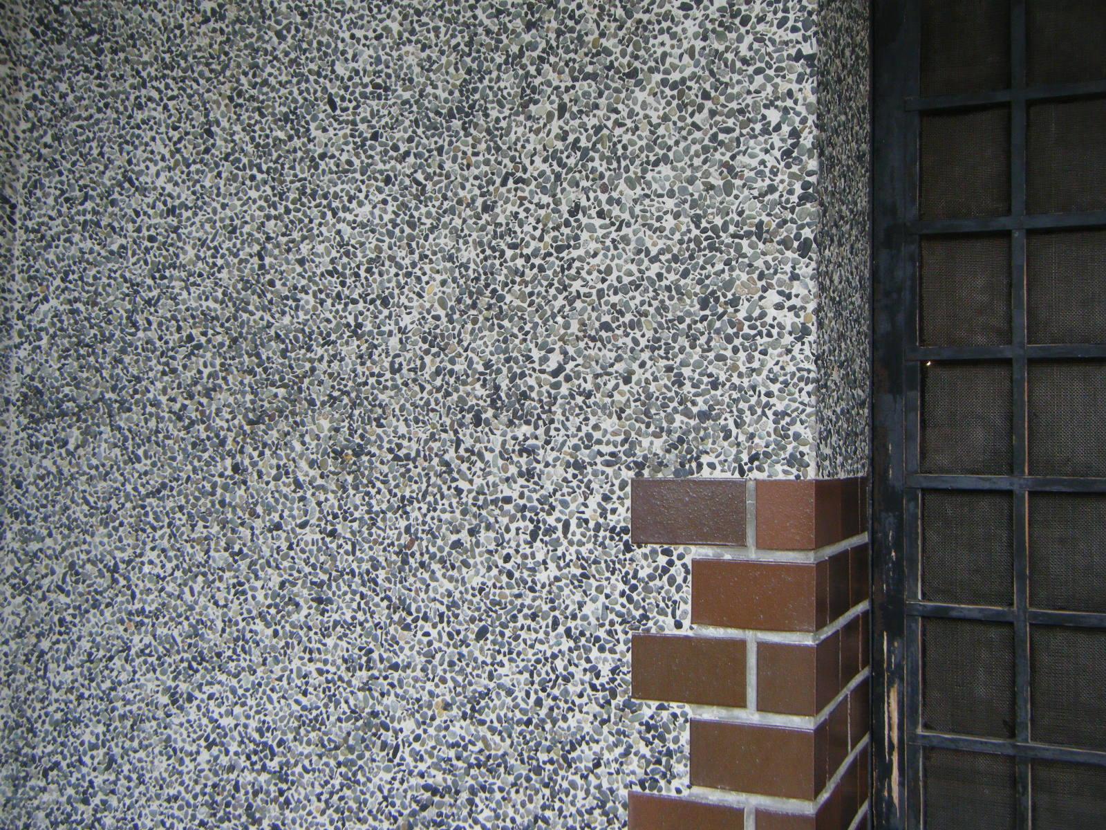 豆砂利引き画像(玄関)3