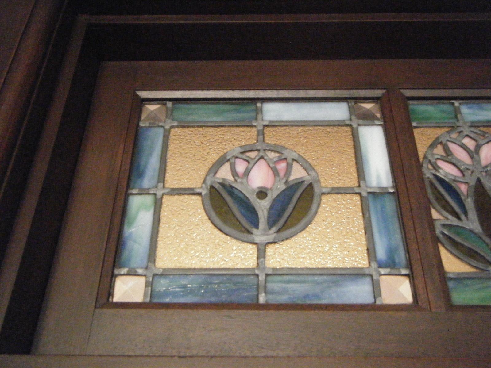 旧平賀邸ステンドグラス
