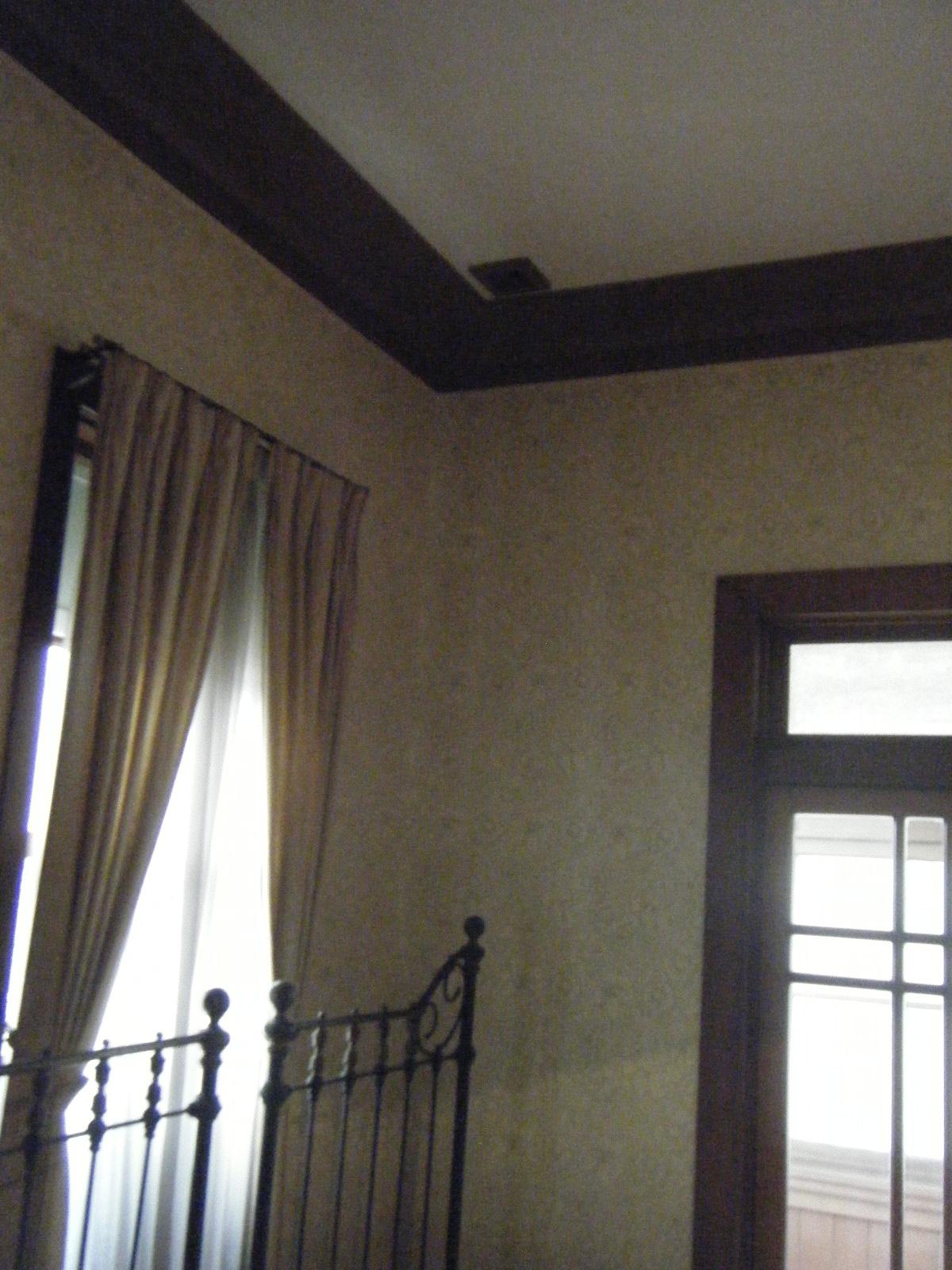 旧平賀邸寝室天井