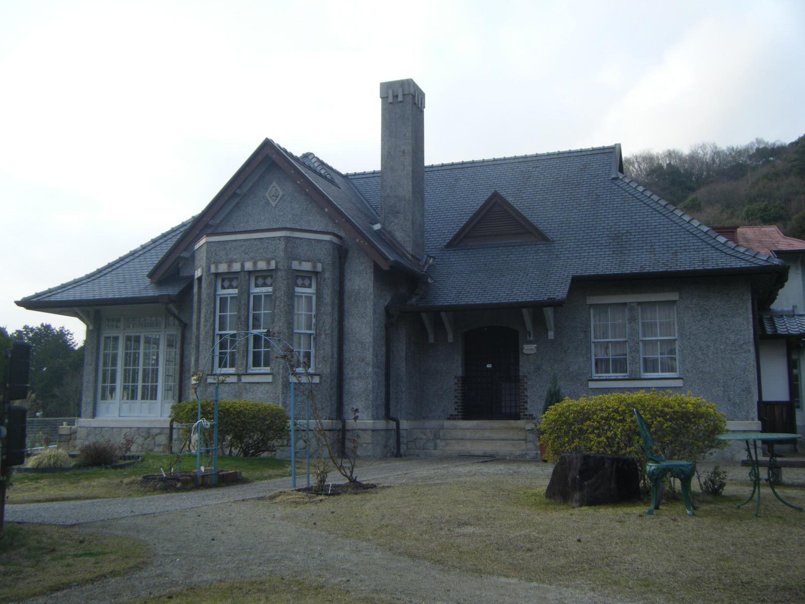 旧平賀邸外観正面