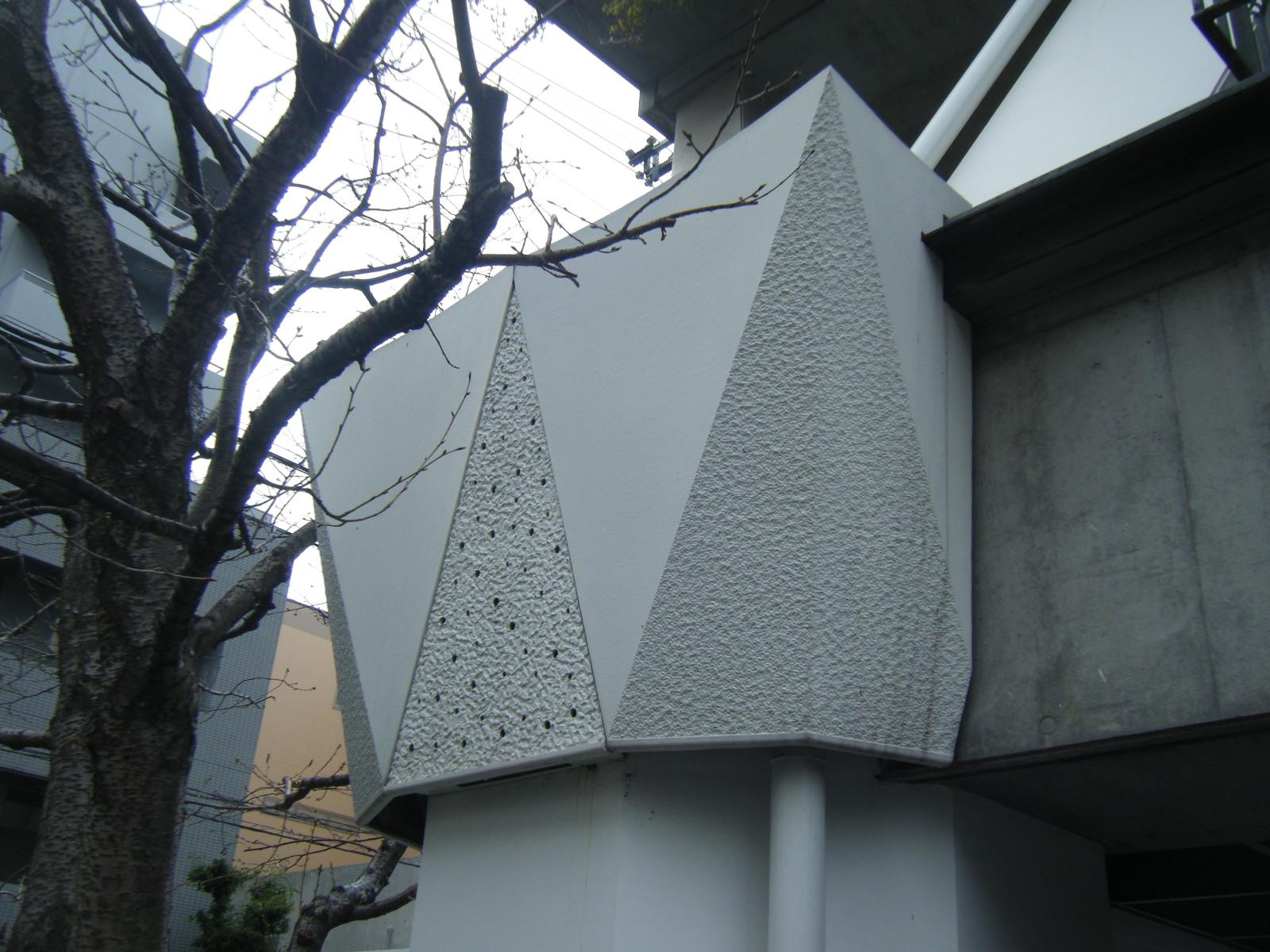 外部意匠的構造物