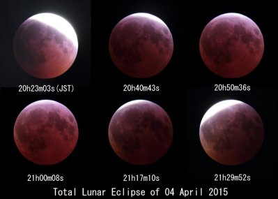 Turquoise(Total Lunar Eclipse of 04 April 2015)