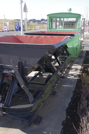 佐原 道の駅 トロッコ