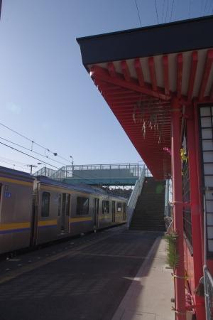 香取駅 209系
