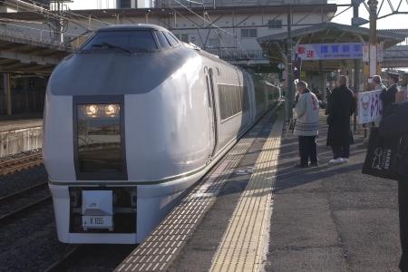 成田駅 651系