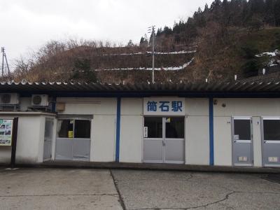北陸本線 筒石駅