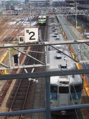 直江津駅 115系