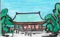 6橿原神宮外拝殿