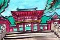 5近江神宮楼門