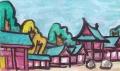 4近江神宮北神門回廊