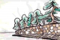 3満月寺の松