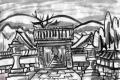 3西教寺総門