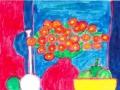 4ロジェボナフェ赤いバラ