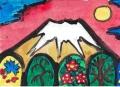 3片岡球子風 富士山 (3)