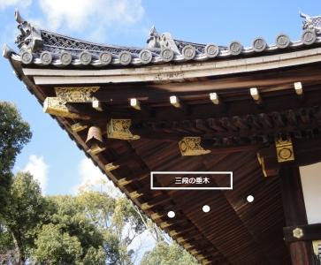 仁和寺金堂垂木