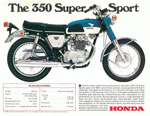 1968 Honda CB 350