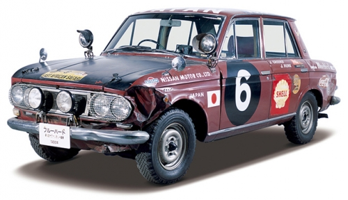 NISSAN DATSUN BLUEBIRD P411 SAFARI RALLY
