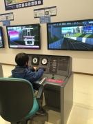 京王れーるランド 小型運転体験シミュレータ
