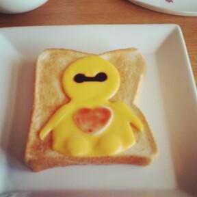 ベイマックスの朝食