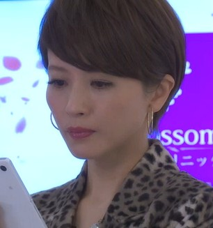 ドラマ『美しき罠 残花繚乱』 三浦理恵子さんのショートヘアの髪型