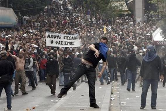 ギリシャストライキ