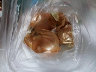 玉ねぎの皮