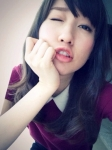 元AKB48 片山陽加 セクシー ウインク 自撮り カメラ目線 唇 高画質エロかわいい画像12