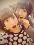 AKB48 柏木由紀 片山陽加 セクシー 口開け 舌 自撮り カメラ目線 高画質エロかわいい画像14