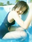 堀北真希 セクシー スクール水着 女優 胸の膨らみ 笑顔 カメラ目線 濡れている 太もも 高画質エロかわいい画像8697