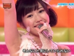 AKB48 渡辺麻友まゆゆ セクシー 脇 マイク 顔アップ 地上波キャプチャー 高画質エロかわいい画像8774