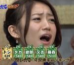 元AKB48 大島優子 セクシー 口開け 顔アップ 地上波キャプチャー 高画質エロかわいい画像8781