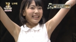 HKT48 宮脇咲良 セクシー 脇 バンザイ 総選挙 地上波キャプチャー 高画質エロかわいい画像8822