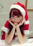 AKB48 加藤玲奈 セクシー サンタ コスプレ 頬杖 カメラ目線 高画質エロかわいい画像8846