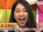 AKB48 田野優花 セクシー 口開け 舌 驚き顔 顔アップ 地上波キャプチャー 高画質エロかわいい画像8871