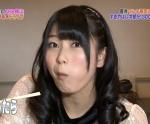 AKB48 横山由依 セクシー 食事顔 頬張り 顔アップ カメラ目線 高画質エロかわいい画像8876