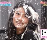 AKB48 倉持明日香 セクシー 顔面生クリーム砲 顔アップ 罰ゲーム 地上波キャプチャー 高画質エロかわいい画像8937