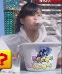 小島瑠璃子 セクシー 牛乳吹き出し噴射 顔アップ 地上波キャプチャー 高画質エロかわいい画像8946