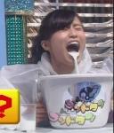 小島瑠璃子 セクシー 牛乳吹き出し 口開け 顔アップ 地上波キャプチャー 高画質エロかわいい画像8947