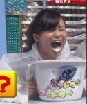小島瑠璃子 セクシー 牛乳吹き出し 口開け 顔アップ 地上波キャプチャー 高画質エロかわいい画像8948
