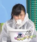 小島瑠璃子 セクシー 牛乳噴射ぶっかけ 顔アップ ポニーテール 地上波キャプチャー 高画質エロかわいい画像8954