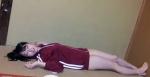 SKE48 高柳明音ちゅり セクシー ジャージ 下半身丸出し 太もも 寝ている 高画質エロかわいい画像8974