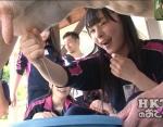 HKT48 山本茉央 セクシー 牛の乳搾り 握り 地上波キャプチャー 高画質エロかわいい画像8992