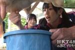 HKT48 坂口理子 セクシー 牛の乳搾り 握り 舌 地上波キャプチャー 高画質エロかわいい画像8993